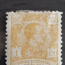 Selos: RIO DE ORO, EDIFIL 130 *, 1921. Lote 202107567
