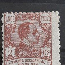 Sellos: RIO DE ORO, EDIFIL 131 (*), 1921. Lote 202109267