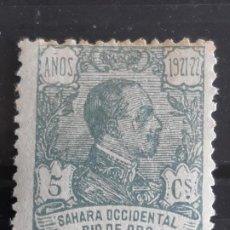 Sellos: RIO DE ORO, EDIFIL 132 *, 1921. Lote 202109816
