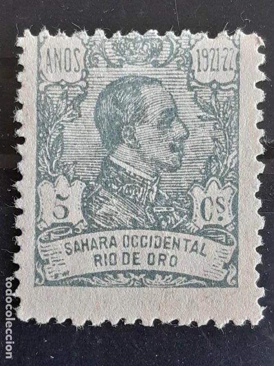 RIO DE ORO, EDIFIL 132 (*), 1921 (Sellos - España - Colonias Españolas y Dependencias - África - Río de Oro)