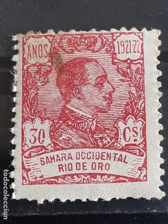RIO DE ORO, EDIFIL 137 *, ÓXIDO, 1921 (Sellos - España - Colonias Españolas y Dependencias - África - Río de Oro)