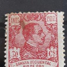 Sellos: RIO DE ORO, EDIFIL 137 *, ÓXIDO, 1921. Lote 202110525