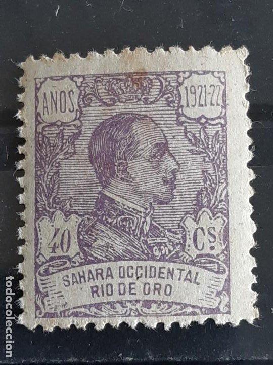 RIO DE ORO, EDIFIL 138 *, ÓXIDO, 1921 (Sellos - España - Colonias Españolas y Dependencias - África - Río de Oro)