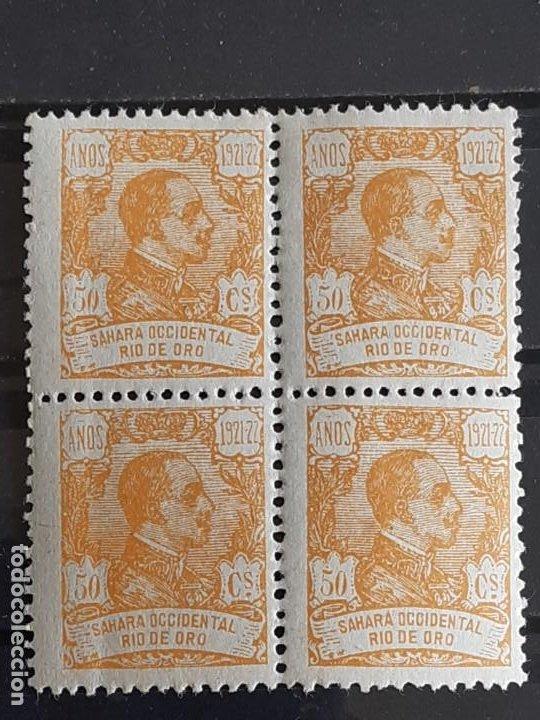 RIO DE ORO, EDIFIL 139 **, BLOQUE 4, 1921 (Sellos - España - Colonias Españolas y Dependencias - África - Río de Oro)