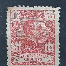 Sellos: RIO DE ORO, EDIFIL 137 (*), 1921. Lote 202110343