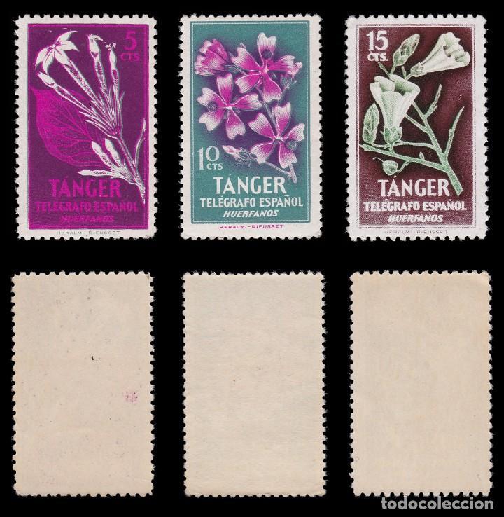 Sellos: TANGER.Beneficencia.1957 Huérfanos.Serie MNH.Edifil 47-52 - Foto 2 - 203065416
