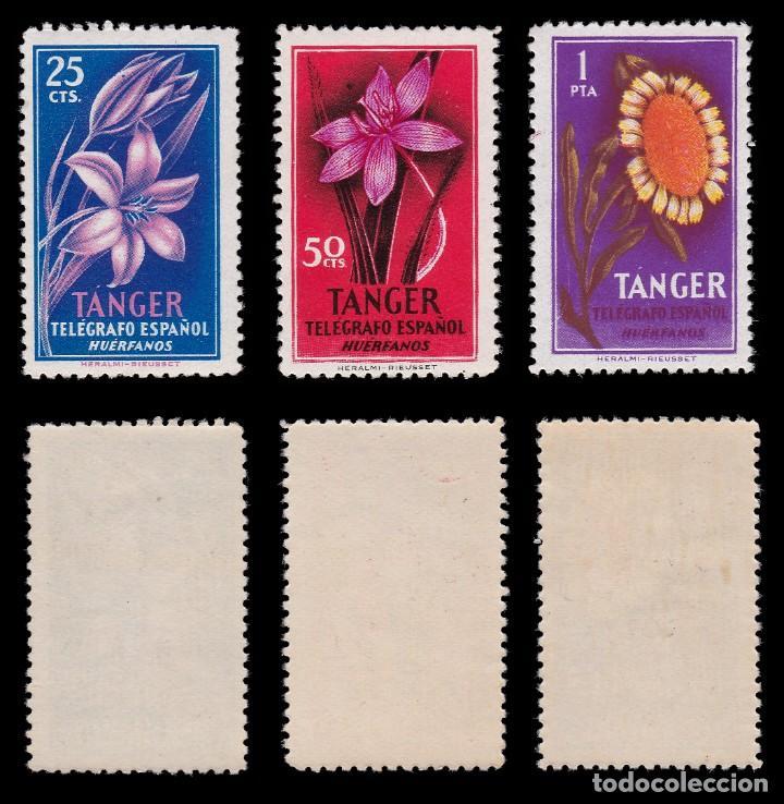 Sellos: TANGER.Beneficencia.1957 Huérfanos.Serie MNH.Edifil 47-52 - Foto 3 - 203065416