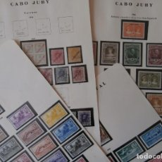 Sellos: ESPAÑA - PRIMER CENTENARIO - COLONIAS - AFRICA OCCIDENTAL 1949-1950-1951 - CABO JUBY-1919-1948.. Lote 203763206
