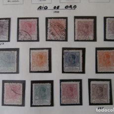 Sellos: ESPAÑA - PRIMER CENTENARIO - COLONIAS - RIO DE ORO 1920 - RIO MUNI 1960-1968 -.. Lote 203765141
