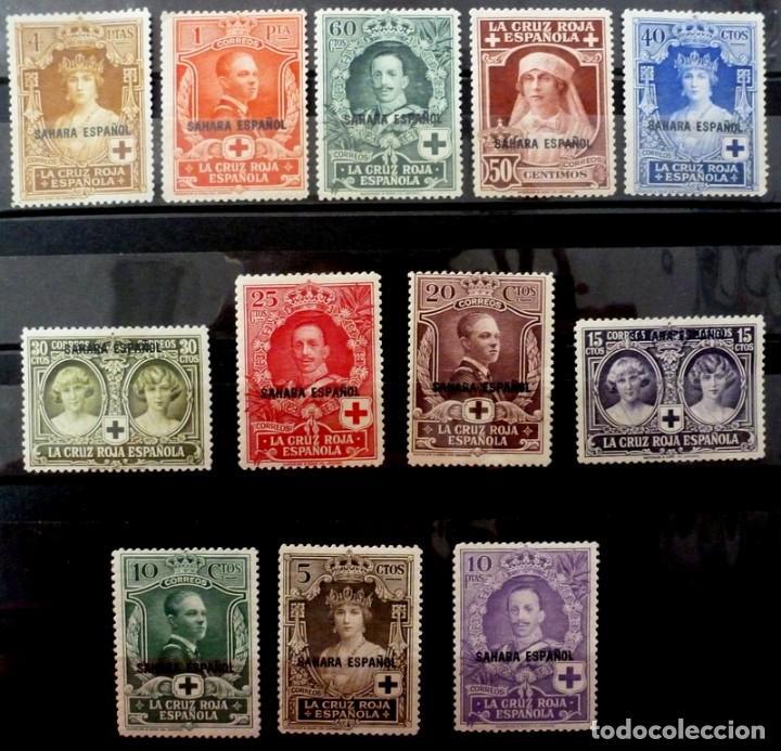 COLONIAS ESPAÑOLAS 1926-SAHARA Nº 13,-FOTO 255- COMPLETA,NUEVO (Sellos - España - Colonias Españolas y Dependencias - África - Sahara)