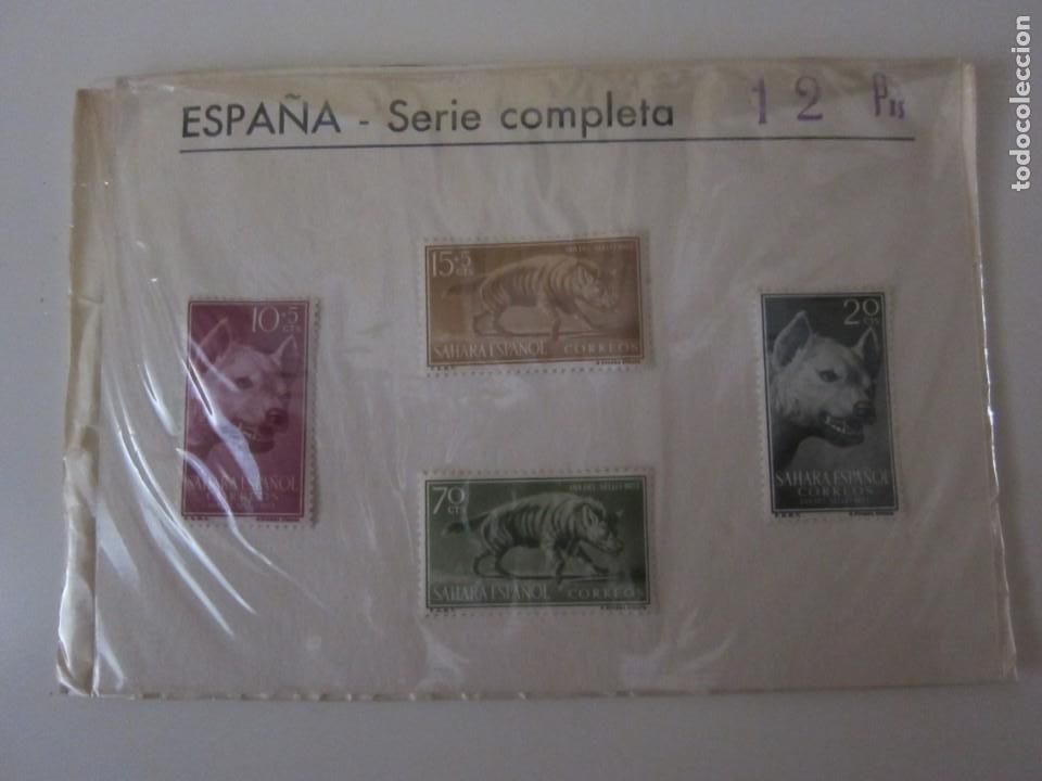 LOTE SELLOS SAHARA ESPAÑOL 1 (Sellos - España - Colonias Españolas y Dependencias - África - Sahara)