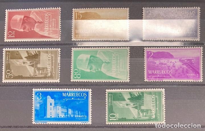 MARRUECOS ZONA NORTE SERIE 1 AL 8 (Sellos - España - Colonias Españolas y Dependencias - África - Marruecos)