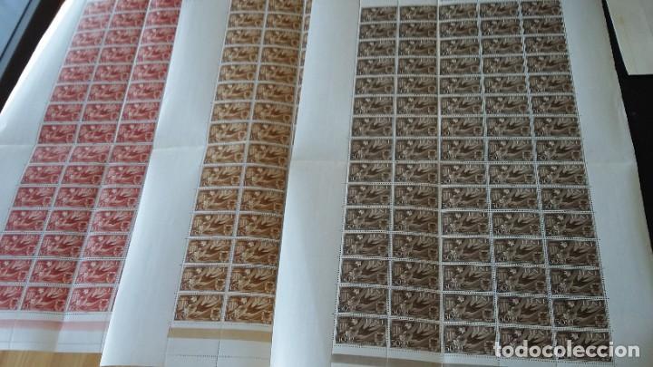 IFNI SERIECOMPLETA 3X75, 1958 AYUDA A VALENCIA 142,143, 144 (Sellos - España - Colonias Españolas y Dependencias - África - Ifni)