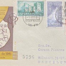 Sellos: LOTE DE CARTAS DE IFNI. Lote 205657527