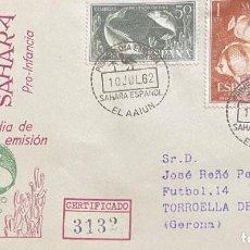 Sellos: LOTE DE TRES CARTAS SAHARA ESPAÑOL. Lote 205661803