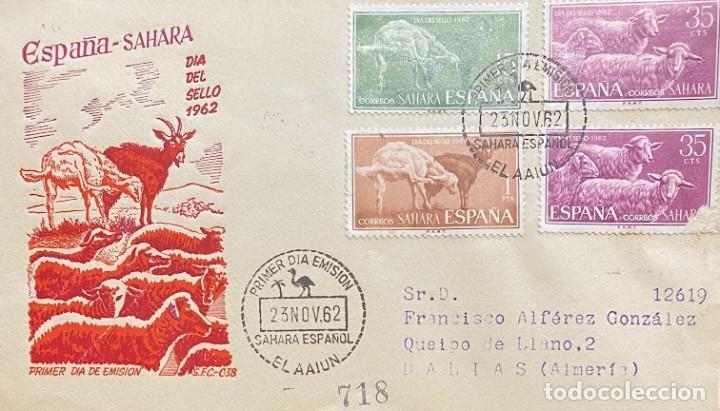 Sellos: LOTE DE TRES CARTAS SAHARA ESPAÑOL - Foto 5 - 205661803