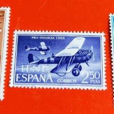 Sellos: SELLOS IFNI 1966 SERIE DE 3 VALORES PRO INFANCIA 218/219/220. Lote 205834776