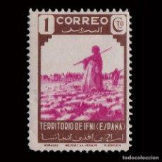 Sellos: IFNI 1943.TIPOS DIVERSOS.1C.MH.EDIFIL.16. Lote 206443628