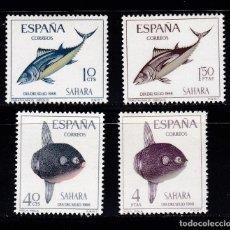 Sellos: SAHARA ED252/55 NUEVO ** MNH COLONIAS ESPAÑOLAS. Lote 206562402