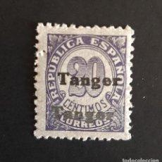 Sellos: SELLO TANGER - 1939 - ED 117 HH - HABILITADO DOBLE - /*/ NUEVO LEVE FIJASELLO. Lote 206568181