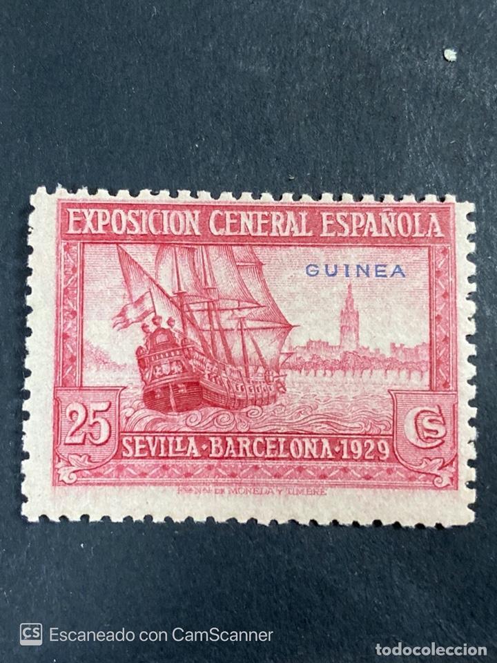Sellos: EDIFIL 191/201. GUINEA ESPAÑOLA. EXPOSICION GENERAL ESPAÑOLA. SEVILLA-BARCELONA 1929. 1 CON CHARNELA - Foto 6 - 206777782