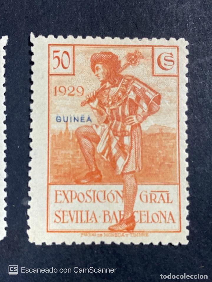 Sellos: EDIFIL 191/201. GUINEA ESPAÑOLA. EXPOSICION GENERAL ESPAÑOLA. SEVILLA-BARCELONA 1929. 1 CON CHARNELA - Foto 8 - 206777782