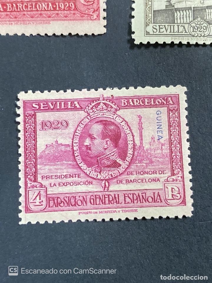 Sellos: EDIFIL 191/201. GUINEA ESPAÑOLA. EXPOSICION GENERAL ESPAÑOLA. SEVILLA-BARCELONA 1929. 1 CON CHARNELA - Foto 10 - 206777782