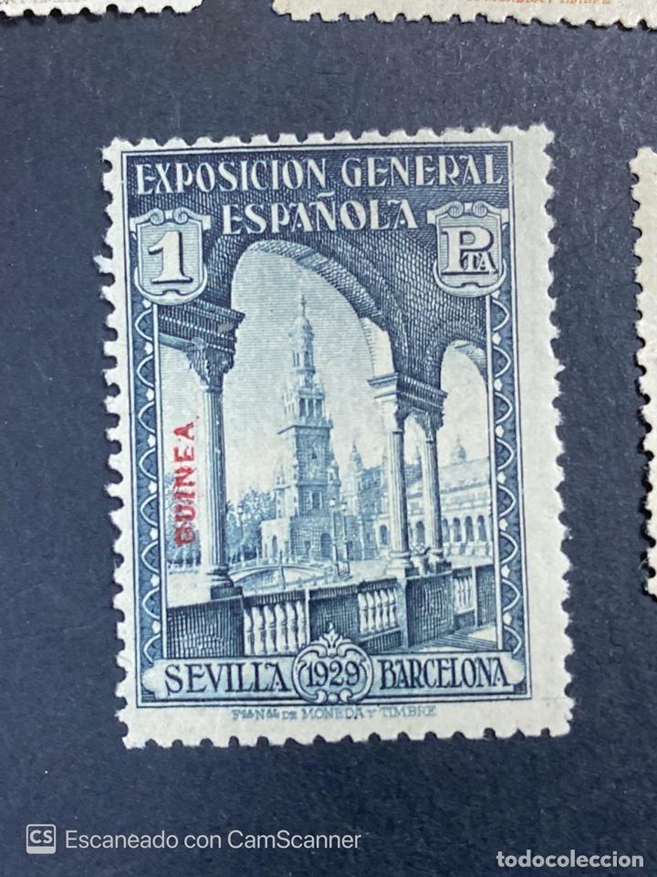 Sellos: EDIFIL 191/201. GUINEA ESPAÑOLA. EXPOSICION GENERAL ESPAÑOLA. SEVILLA-BARCELONA 1929. 1 CON CHARNELA - Foto 11 - 206777782