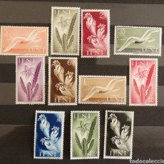 Sellos: IFNI N°103/13 MNH, AÑO 1954 (FOTOGRAFÍA REAL). Lote 207277011