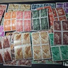 Sellos: 200, SAHARA, 50 BLOQUE X 4 SERIES COMPLETAS NUEVOS. Lote 218796505