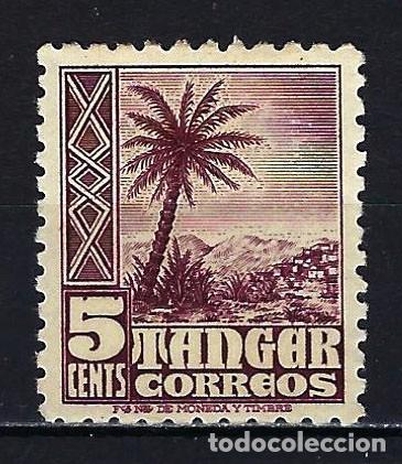 307 0,15 1949 ESPAÑA MARRUECOS TÁNGER EDIFIL 153 MLH* NUEVO LIGERA SEÑAL DE FIJASELLOS (Sellos - España - Colonias Españolas y Dependencias - África - Tanger)