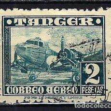 Francobolli: 1949 ESPAÑA MARRUECOS TÁNGER EDIFIL 170 CORREO AÉREO USADO. Lote 207942542