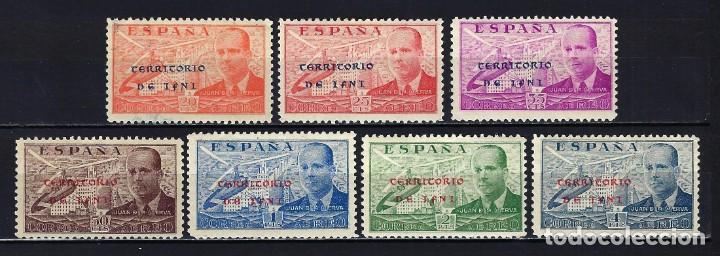 1941 ESPAÑA IFNI EDIFIL ESPECIALIZADO 15H/15P DE LA CIERVA CORREO AÉREO -MNH** NUEVO SIN FIJASELLOS (Sellos - España - Colonias Españolas y Dependencias - África - Ifni)