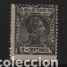 Sellos: RIO DE ORO- 2 CTS - ALFONSO XIII.-AÑO 1907- NUEVO- VER FOTO. Lote 208915437