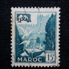 Sellos: MARRUECOS MAROC, 15F, AÑO 1951.. Lote 208963918