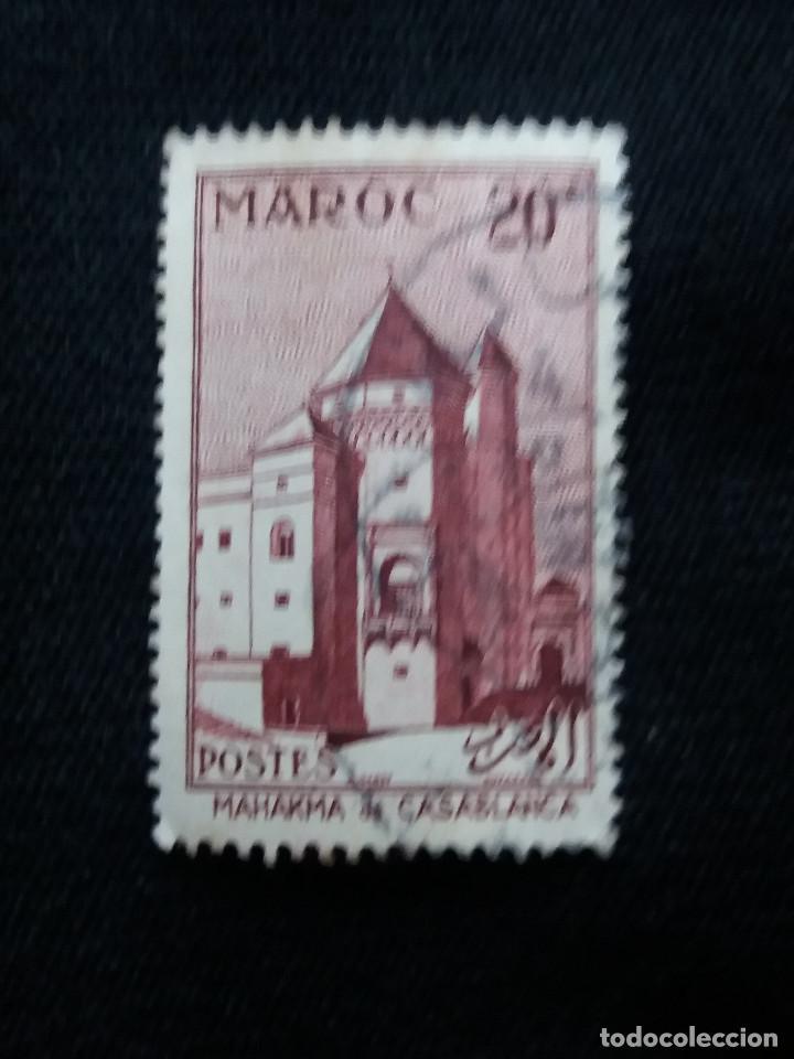 MARRUECOS MAROC,20F, CASABLANCA, AÑO 1955. SIN USAR (Sellos - España - Colonias Españolas y Dependencias - África - Marruecos)