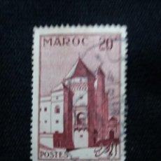 Sellos: MARRUECOS MAROC,20F, CASABLANCA, AÑO 1955. SIN USAR. Lote 208964917