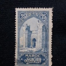 Sellos: MARRUECOS MAROC,25C, CIUDAD CHELIA, AÑO 1923.. Lote 208965475