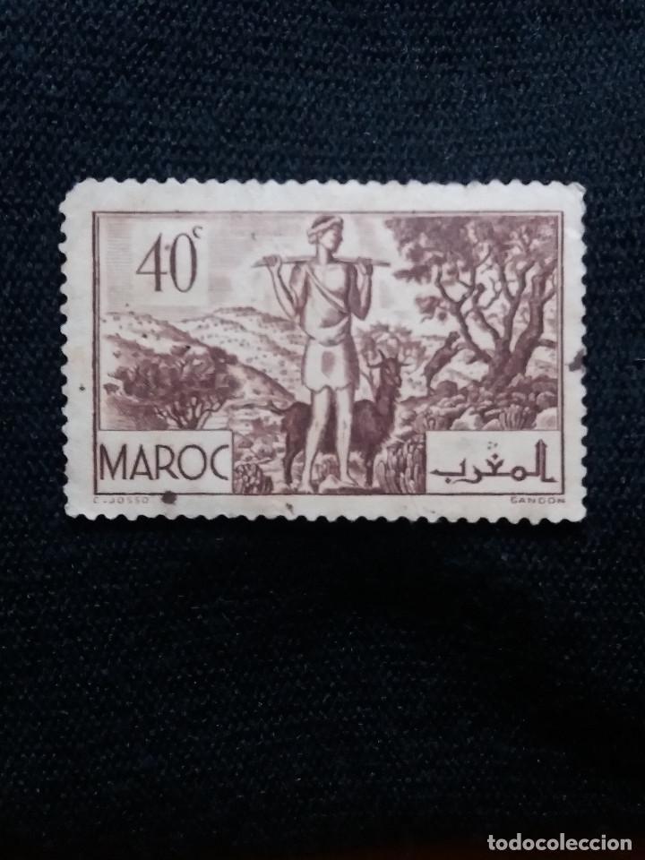 MARRUECOS MAROC,40C, AÑO 1945. (Sellos - España - Colonias Españolas y Dependencias - África - Marruecos)