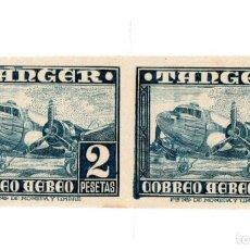 Sellos: TANGER- PAREJA SIN DENTAR DEL Nº 170 DE EDIFIL,NUEVA Y PERFECTA. Lote 209586605