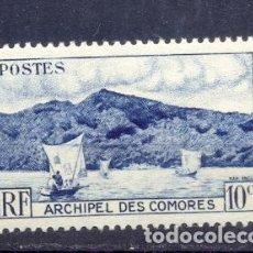 Sellos: COMORES, NUEVO, CON GOMA. Lote 209660990