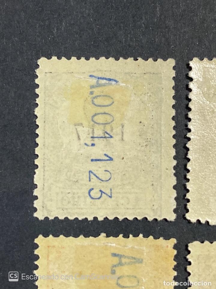 Sellos: GUINEA, 1917. ALFONSO XIII. HABILITADOS. EDIFIL 111-123. COMPLETA. NUEVOS. GOMA. SEÑAL FIJASELLOS. - Foto 16 - 209674196