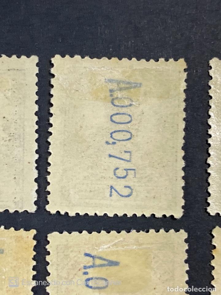 Sellos: GUINEA, 1917. ALFONSO XIII. HABILITADOS. EDIFIL 111-123. COMPLETA. NUEVOS. GOMA. SEÑAL FIJASELLOS. - Foto 17 - 209674196