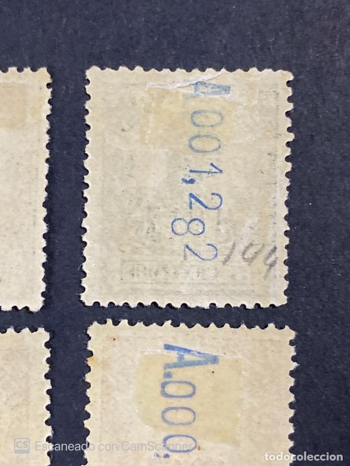 Sellos: GUINEA, 1917. ALFONSO XIII. HABILITADOS. EDIFIL 111-123. COMPLETA. NUEVOS. GOMA. SEÑAL FIJASELLOS. - Foto 18 - 209674196