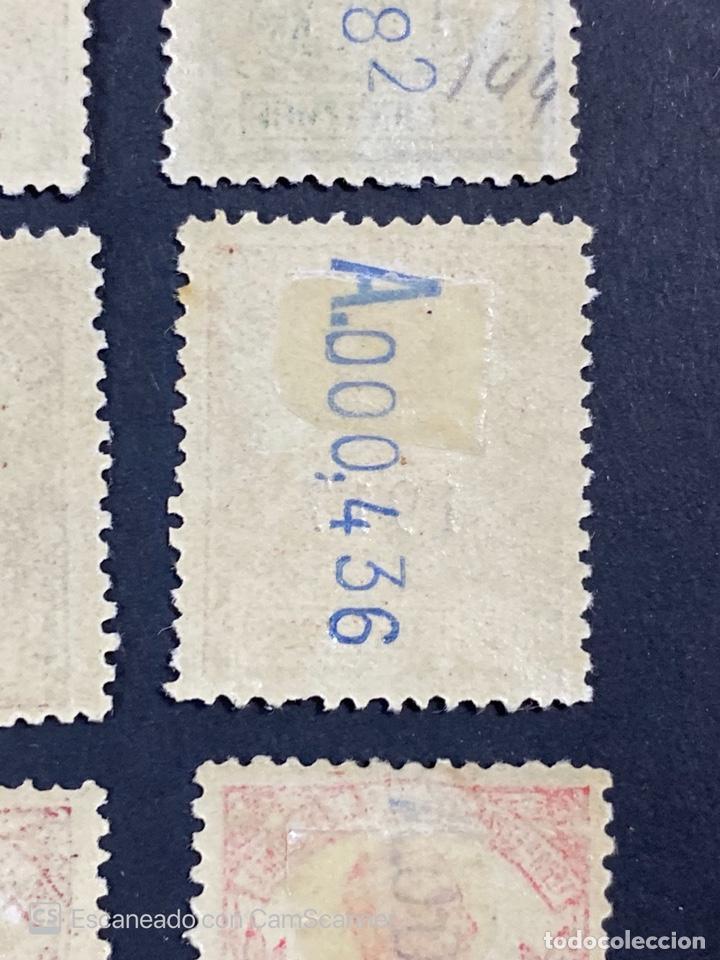 Sellos: GUINEA, 1917. ALFONSO XIII. HABILITADOS. EDIFIL 111-123. COMPLETA. NUEVOS. GOMA. SEÑAL FIJASELLOS. - Foto 21 - 209674196