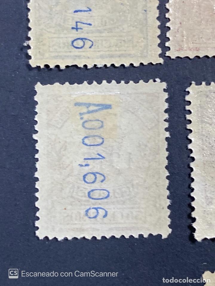 Sellos: GUINEA, 1917. ALFONSO XIII. HABILITADOS. EDIFIL 111-123. COMPLETA. NUEVOS. GOMA. SEÑAL FIJASELLOS. - Foto 25 - 209674196