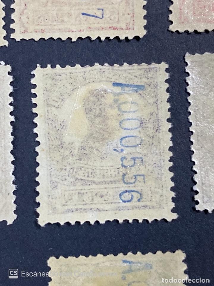 Sellos: GUINEA, 1917. ALFONSO XIII. HABILITADOS. EDIFIL 111-123. COMPLETA. NUEVOS. GOMA. SEÑAL FIJASELLOS. - Foto 26 - 209674196