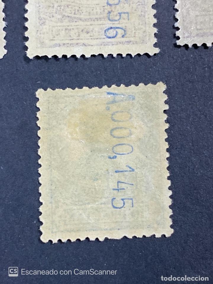 Sellos: GUINEA, 1917. ALFONSO XIII. HABILITADOS. EDIFIL 111-123. COMPLETA. NUEVOS. GOMA. SEÑAL FIJASELLOS. - Foto 28 - 209674196