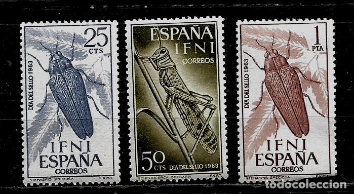 COLONIAS ESPAÑOLAS -IFNI - EDIFIL 200-202 - 1964 - NUEVOS SIN FIJASELLOS (Sellos - España - Colonias Españolas y Dependencias - África - Ifni)