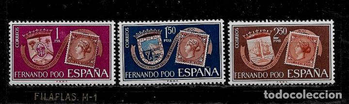 FERNANDO POO - CENTENARIO PRIMER SELLO - 1968- EDIFIL 262-64 - NUEVOS. (Sellos - España - Colonias Españolas y Dependencias - África - Fernando Poo)